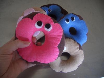 donut rattles
