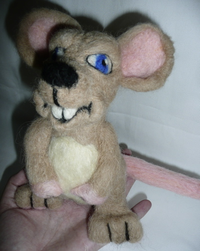Marty the dorm mouse
